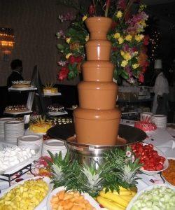 chocolate fountain caledon