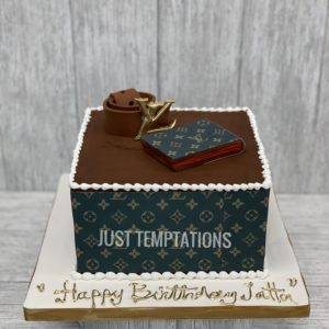 Louis Vouitton Birthday cake